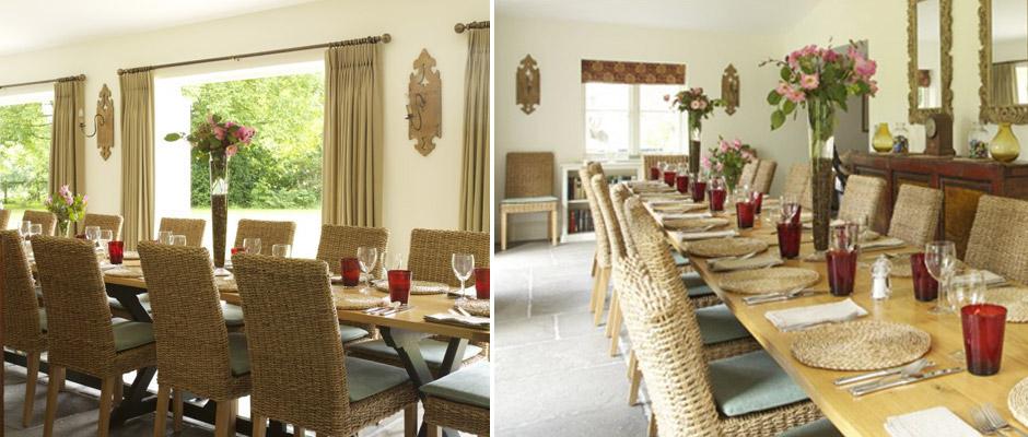 Dining Room in Barn Conversion