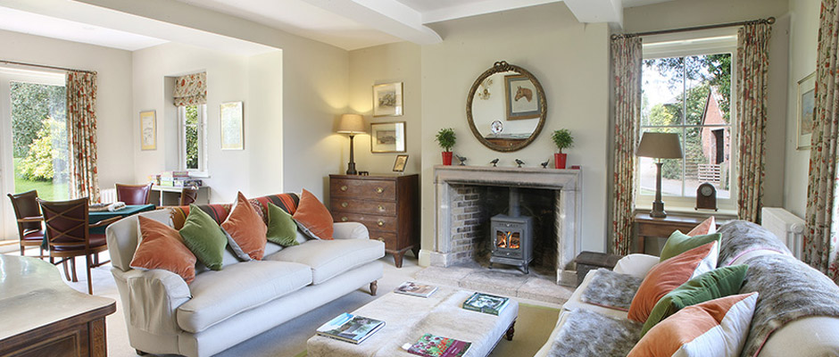 Large Open Plan Drawing Room