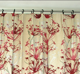 Cartridge Pleat Curtain