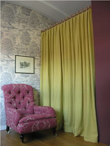 floppity linen curtain by Tinsmiths