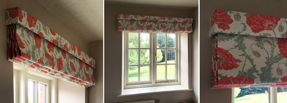 Pelmet for Roman Blinds