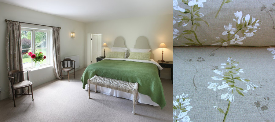 Agata Linen Bedroom Curtains